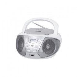 TREVI 0CM55801 Radio CD Portable - USB - Jack 3,5mm - Blanc