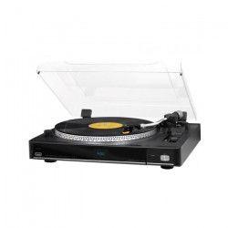 TREVI TT-1075E Platine Vinyle PRO - 33 et 45 tours - Noir