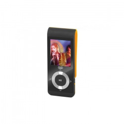TREVI MPV 1728 SD Lecteur MP3 avec micro SD 4Go inclus - Noir / Orange