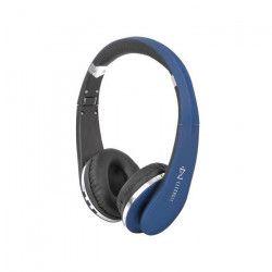 TREVI DJ 1200 BT Casque Bluetooth avec micro - Bleu