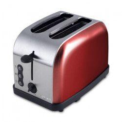 BEPER 90850 Grille-pain 2 fentes - 900 W - Rouge