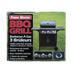 Barbecue 3 Gaz Bruleurs
