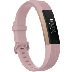 Bracelet connecté Fitbit Alta HR Rose Gold L