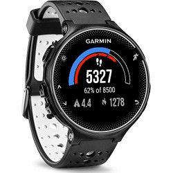 Montre de running avec fonction de coaching GPS Garmin Forerunner 230 noir/blanc