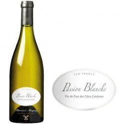 Passion Vin de Pays d`Oc Côtes de Catalanes 2012 - Vin blanc