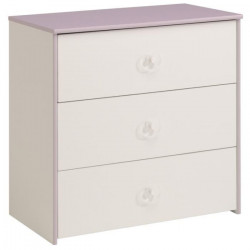 Commode Swithome Lami Blanc/Lilas