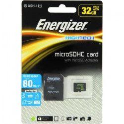 ENERGIZER High Tech Carte MicroSDHC 32Go Class10