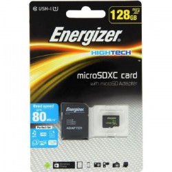 ENERGIZER High Tech Carte MicroSDXC 128Go Class10
