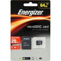 ENERGIZER Classic Carte MicroSDXC 64Go Class10