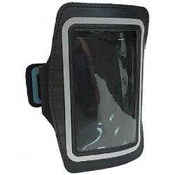 WE Pack brassard et écouteurs pour Galaxy S4 - Micro intégré et contrôle du volume - Noir