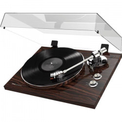 AKAI PROFESSIONAL BT500-W Platine Vinyle USB/Bluetooth de salon pour audiophiles - Finition Noyer