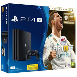 PS4 Pro 1 To + FIFA 18 Edition Deluxe + PlayStation Plus 14 Jours