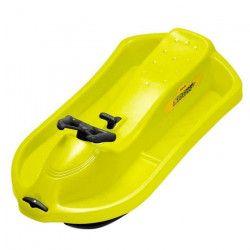 EDA PLASTIQUES `Snow Racer` Bol a Volant avec Tire Luge 101 x 55,6 x 26,5 cm Jaune fluo