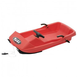 EDA PLASTIQUES Luge Super Bob EDA N°56 Rouge 95 x 48 x 23 cm