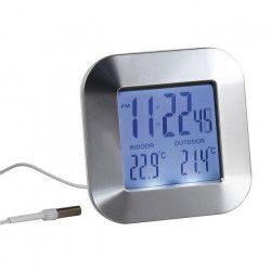 CLIPSONIC SL252 Thermometre intérieur/extérieur - Blanc