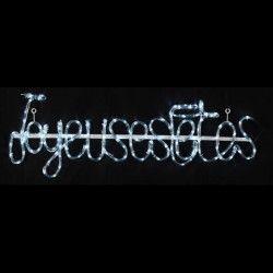 Joyeuses fetes Lumineux 96 LED blanc