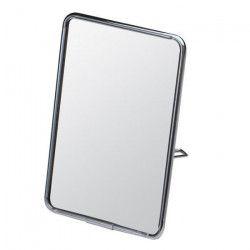 GERSON Miroir a poser - Chromé noir - 11,5x16,5 cm