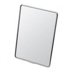 GERSON Miroir a poser - chromé noir - 13,5x18,5 cm