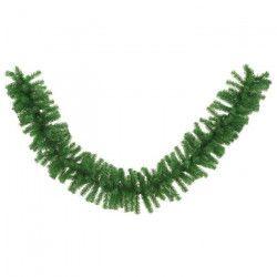 CODICO Guirlande de noël sapin luxe 300 branches 270x35 cm verte
