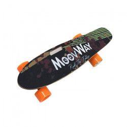 MOOVWAY Skate Electrique S1 Jaune avec Télécommande