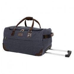 CDB Sac de voyage Polyester 600D 55 cm Aspect Canevas Bleu