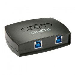 LINDY Switch USB 3.0 - 2 ports