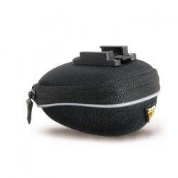 TOPEAK Sacoche de selle Pro Pack Micro - Extra déperlant et résistant aux taches - Noir - 0,3 L