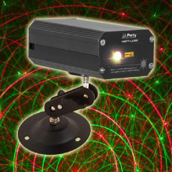 PARTY LIGHT & SOUND PARTY-LASER Laser Multipoint Rouge et Vert