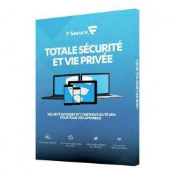F Secure Pack Total - ATTACH FREEDOME+ SAFE - Sécurité Internet et Confidentialité