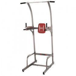 BH Multistation musculation - Stable et pratique - Structure renforcée - Gris