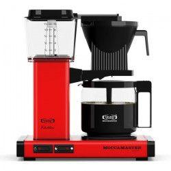 MOCCAMASTER Cafetiere filtre - Rouge