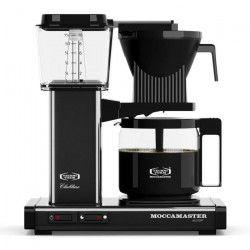 MOCCAMASTER Cafetiere filtre - Noir