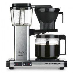 MOCCAMASTER Cafetiere filtre - Aluminium brossé