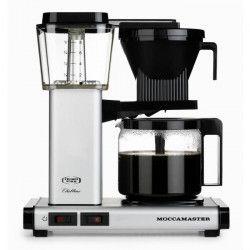 MOCCAMASTER Cafetiere filtre - Aluminium mat