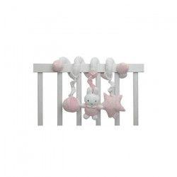 PIOUPIOU ET MERVEILLES Spirale Multi-Activités Miffy Rose - 22 cm