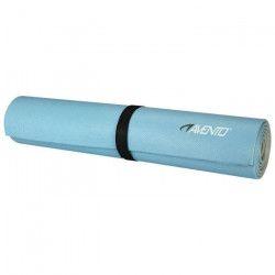 AVENTO Tapis de sol fitness / pilates 6 mm - Bleu / Gris