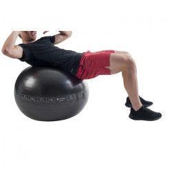 PURE2IMPROVE Ballon d`exercice - 65 cm - Fitness - Noir