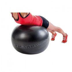 PURE2IMPROVE Ballon d`exercice - 75 cm - Fitness - Noir
