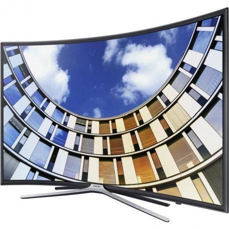 samsung ue49m6350a tv led incurv e full hd 123 cm. Black Bedroom Furniture Sets. Home Design Ideas