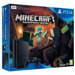 Nouvelle PS4 Slim 500 Go Minecraft (Voucher)