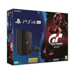 PS4 Pro 1 To + Gran Turismo Sport + Qui es-tu ? (Jeu PlayLink a télécharger)