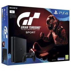 Nouvelle PS4 Slim 1 To + Gran Turismo Sport Jeu PS4 + Qui-es-tu ? (a télécharger)
