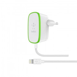 Belkin Chargeur Secteur pour iPhone et iPad - 1,8 m - 12 W - Blanc