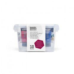LIQUITEX Basics Box Acrylique - 75 ml