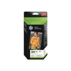 HP N364 - Pack de 3 Cartouches d`encre - Jaune, magenta et cyan