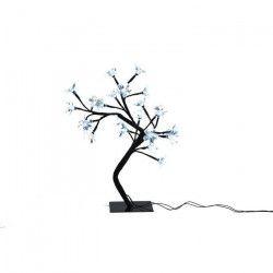 Sapin de Noël artificiel lumineux Fleur Blanc 38 cm
