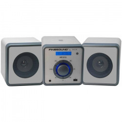 FINESOUND MC010 Mini-Chaine USB high-tech - CD, MP3, Radio - Gris