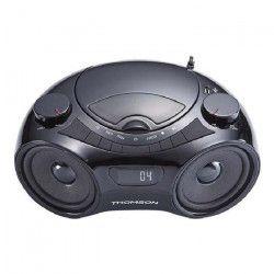 THOMSON RCD210U Radio Lecteur CD / MP3 portable - Noir