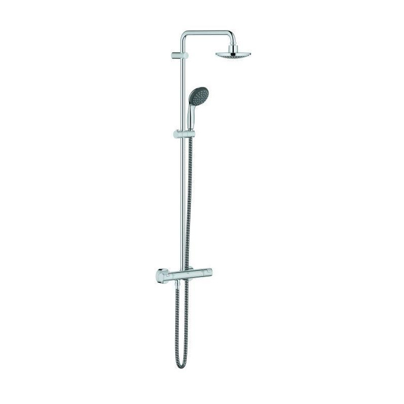 Grohe colonne de douche thermostatique vitalio start - Colonne de douche thermostatique grohe ...