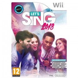 Let`s Sing 2018 Hits Français et Internationaux Jeu Wii